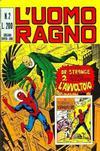 Cover for L'Uomo Ragno [Collana Super-Eroi] (Editoriale Corno, 1970 series) #2