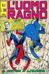 Cover for L'Uomo Ragno [Collana Super-Eroi] (Editoriale Corno, 1970 series) #6