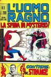 Cover for L'Uomo Ragno [Collana Super-Eroi] (Editoriale Corno, 1970 series) #11