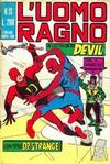 Cover for L'Uomo Ragno [Collana Super-Eroi] (Editoriale Corno, 1970 series) #13