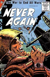 Cover Thumbnail for Never Again (Charlton, 1955 series) #8