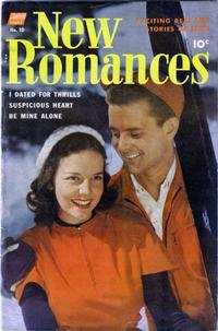Cover Thumbnail for New Romances (Pines, 1951 series) #10