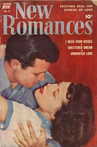 Cover Thumbnail for New Romances (Pines, 1951 series) #15
