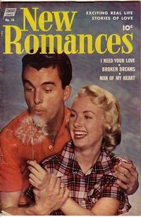 Cover for New Romances (Pines, 1951 series) #16