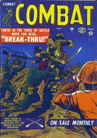Cover Thumbnail for Combat (Marvel, 1952 series) #2