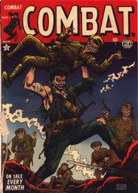 Cover Thumbnail for Combat (Marvel, 1952 series) #3