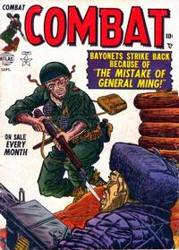 Cover Thumbnail for Combat (Marvel, 1952 series) #4