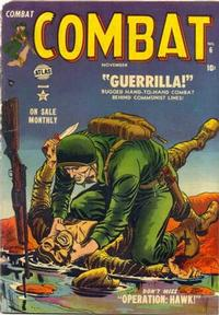 Cover Thumbnail for Combat (Marvel, 1952 series) #6