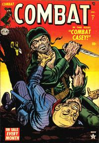Cover Thumbnail for Combat (Marvel, 1952 series) #7
