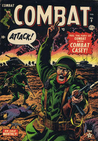 Cover Thumbnail for Combat (Marvel, 1952 series) #9