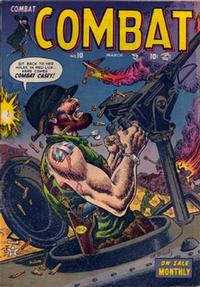 Cover Thumbnail for Combat (Marvel, 1952 series) #10