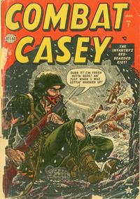 Cover Thumbnail for Combat Casey (Marvel, 1953 series) #7