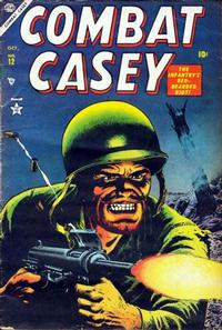 Cover Thumbnail for Combat Casey (Marvel, 1953 series) #12