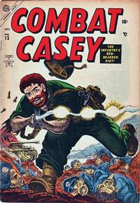 Cover Thumbnail for Combat Casey (Marvel, 1953 series) #13