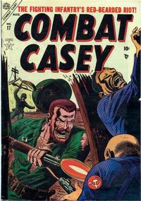 Cover Thumbnail for Combat Casey (Marvel, 1953 series) #17