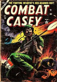 Cover Thumbnail for Combat Casey (Marvel, 1953 series) #19