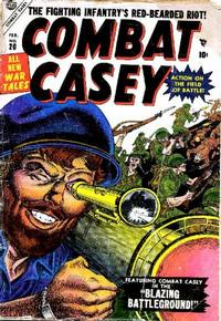 Cover Thumbnail for Combat Casey (Marvel, 1953 series) #20