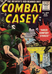 Cover Thumbnail for Combat Casey (Marvel, 1953 series) #22