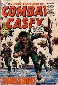 Cover Thumbnail for Combat Casey (Marvel, 1953 series) #23