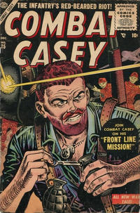 Cover Thumbnail for Combat Casey (Marvel, 1953 series) #25