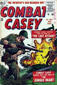 Cover Thumbnail for Combat Casey (Marvel, 1953 series) #26