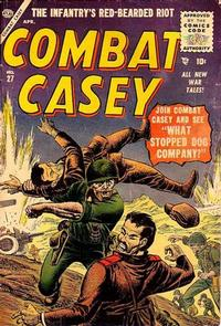 Cover Thumbnail for Combat Casey (Marvel, 1953 series) #27