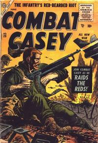 Cover Thumbnail for Combat Casey (Marvel, 1953 series) #28