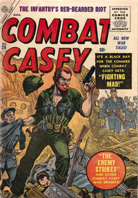 Cover Thumbnail for Combat Casey (Marvel, 1953 series) #29