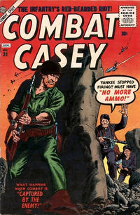 Cover for Combat Casey (Marvel, 1953 series) #31