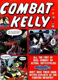 Cover Thumbnail for Combat Kelly (Marvel, 1951 series) #4