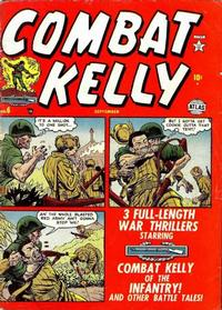 Cover Thumbnail for Combat Kelly (Marvel, 1951 series) #6