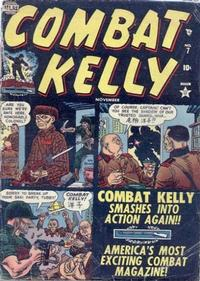 Cover Thumbnail for Combat Kelly (Marvel, 1951 series) #7