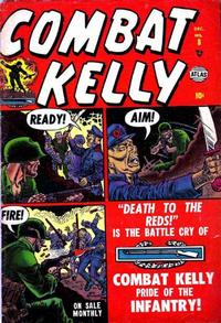Cover Thumbnail for Combat Kelly (Marvel, 1951 series) #8