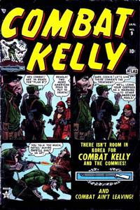 Cover Thumbnail for Combat Kelly (Marvel, 1951 series) #9
