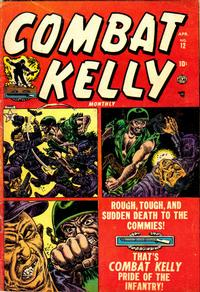 Cover Thumbnail for Combat Kelly (Marvel, 1951 series) #12