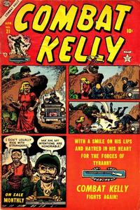 Cover Thumbnail for Combat Kelly (Marvel, 1951 series) #21