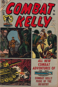 Cover Thumbnail for Combat Kelly (Marvel, 1951 series) #24