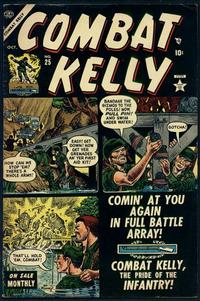 Cover Thumbnail for Combat Kelly (Marvel, 1951 series) #25