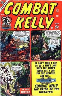 Cover Thumbnail for Combat Kelly (Marvel, 1951 series) #26