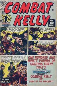 Cover Thumbnail for Combat Kelly (Marvel, 1951 series) #28