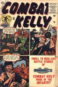 Cover Thumbnail for Combat Kelly (Marvel, 1951 series) #33
