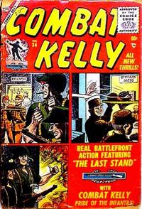 Cover Thumbnail for Combat Kelly (Marvel, 1951 series) #34