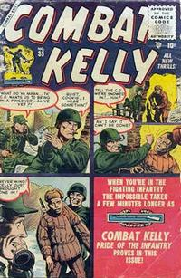 Cover Thumbnail for Combat Kelly (Marvel, 1951 series) #35