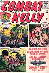 Cover Thumbnail for Combat Kelly (Marvel, 1951 series) #41
