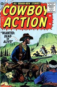 Cover Thumbnail for Cowboy Action (Marvel, 1955 series) #7
