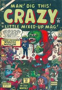 Cover for Crazy (Marvel, 1953 series) #3