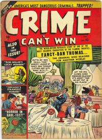 Cover Thumbnail for Crime Can't Win (Marvel, 1950 series) #43 [3]