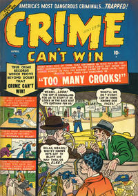 Cover Thumbnail for Crime Can't Win (Marvel, 1950 series) #4