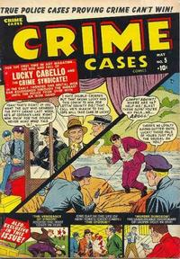 Cover Thumbnail for Crime Cases Comics (Marvel, 1950 series) #5