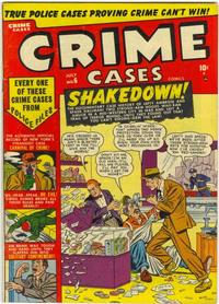 Cover Thumbnail for Crime Cases Comics (Marvel, 1950 series) #6